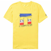 Le Coq Sportif Tour de France N4 Arrival T-Shirt - Yellow