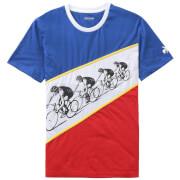 Le Coq Sportif Tour de France N6 Kraftwerk T-Shirt - Blue/White