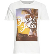 Jack & Jones Men's Originals Travel T-Shirt - Cloud Dancer