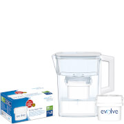 Aqua Optima Compact Bundle (Includes 2.1L Jug, 30 Day Cartridge Plus 3-6 Month Filter Pack)