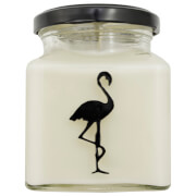 Black Tea and Almond Flamingo Candle