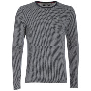 Brave Soul Men's Mosley Long Sleeve Top - Navy