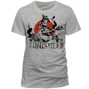 T-Shirt Marvel Comics The Punisher -Gris