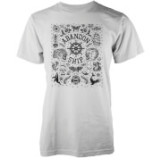 Abandon Ship Wall Flash Heren T-shirt - Wit