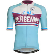 Santini Bergamo Collection Berbenno Jersey - Blue