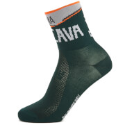 Santini Bergamo Collection Valcava Socks - Green