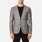 HUGO Men's Anfred Blazer - Medium Brown