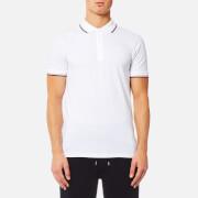 HUGO Men's Dasto Tipped Polo Shirt - White