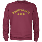 Buffy The Vampire Slayer Sunny Dale High Varsity Sweatshirt