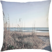 Beach Scene Cushion - Blue (45 x 45cm)