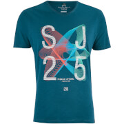Camiseta Smith & Jones Arcsin - Hombre - Azul verdoso