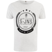 Smith & Jones Men's Hypoten T-Shirt - Light Grey Marl