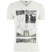 Camiseta Smith & Jones Fibonacci - Hombre - Gris claro moteado