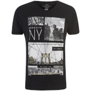 Camiseta Smith & Jones Fibonacci - Hombre - Negro
