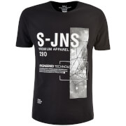 T-Shirt Homme Langchor Smith & Jones -Noir