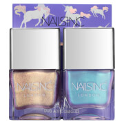 nails inc. Sparkle Like a Unicorn Nail Varnish Duo Kit 2 x 14ml