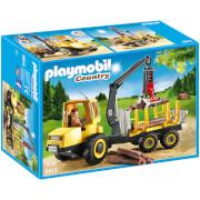 Porteur avec bûcheron (6813) -Playmobil