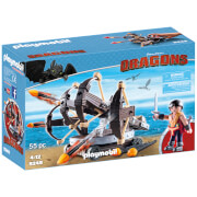 Playmobil How to Train Your Dragon: Eret met viervoudige ballista (9249)