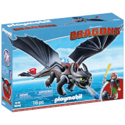 Playmobil How to Train Your Dragon: Hiccup with Toothless (9246)