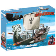 Playmobil How to Train Your Dragon: Ship with Drago (9244)