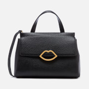 Lulu Guinness Women's Grainy Leather Gertie Bag - Black