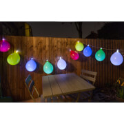 Balloon String Lights - White