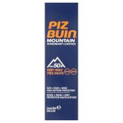 Piz Buin Mountain Sun Cream and Lipstick - Very High SPF50+