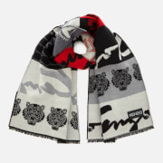 KENZO Women's High End Icons Multi Icons Stole Scarf - Multi
