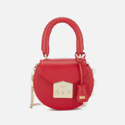 SALAR Women's Mimi Mini Pearl Bag - Red