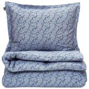 GANT Home Ash Paisley Double Duvet Set with 2 Pillowcases - Sateen Blue