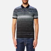 BOSS Green Men's Paddy3 Stripe Polo Shirt - Black