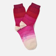 Paul Smith Women's Fade Stripe Socks - Pink