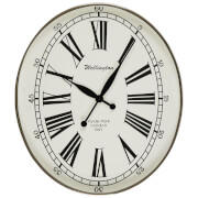 Fifty Five South Hampstead Wall Clock - White/Black