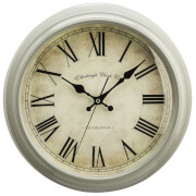 Fifty Five South Vermont Wall Clock - Grey