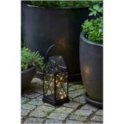 Sirius Aske Outdoor Lantern with Timer - Black