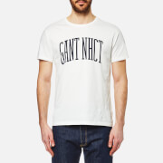 GANT Men's Collegiate Short Sleeve T-Shirt - Eggshell
