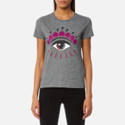 KENZO Women's Classic Icons Eye T-Shirt - Anthracite
