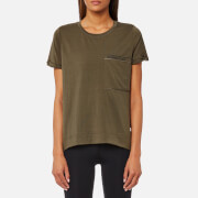 Bjorn Borg Women's Dorey Loose T-Shirt - Olive Night