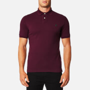 Polo Ralph Lauren Men's Custom Fit Mesh Polo Shirt - Burgundy