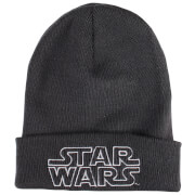 Star Wars Men's Retro Logo Beanie - Graphite Grey