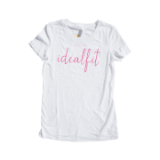 Next Level IdealFit T-Shirts - White - S (Master)