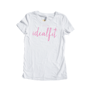 Next Level IdealFit T-Shirts - White - XL (Master)