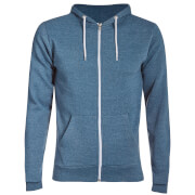 Advocate Men's Berkley Zip Through Hoody - Denim Marl