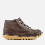 Chaussures Enfant Kick Hi Kickers - Marron Foncé