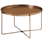 Fifty Five South Templar Tray Table - Copper