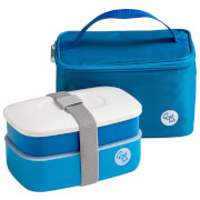 Grub Tub Lunch Box with Cool Bag - Blue