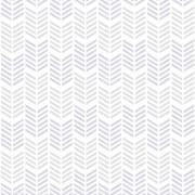 Superfresco Easy Oiti Chevron Geometric Wallpaper - Grey/Purple