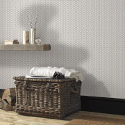 Superfresco Easy Helice Geometric Wallpaper - Taupe