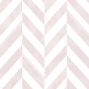 Superfresco Easy Italie Geometric Wallpaper - Pink/White