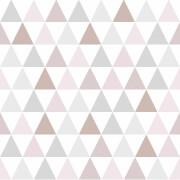Superfresco Easy Tarek Geometric Wallpaper - Rose Gold